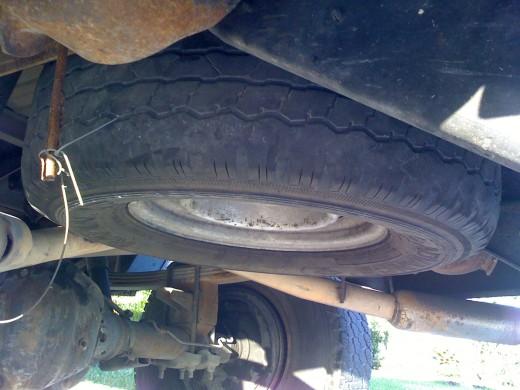 Spare Truck Tire