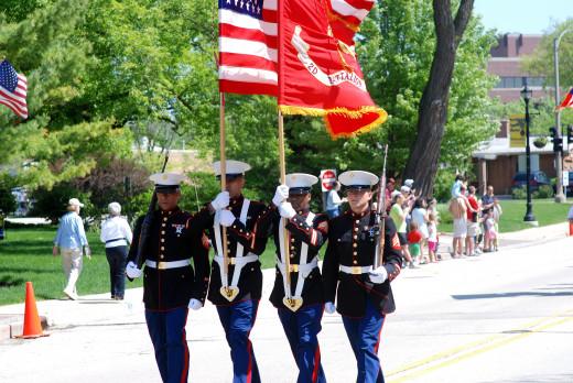 Parades let us remember.