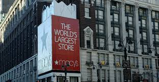 Macy's today, after Macy learnt from his earlier mistakes.
