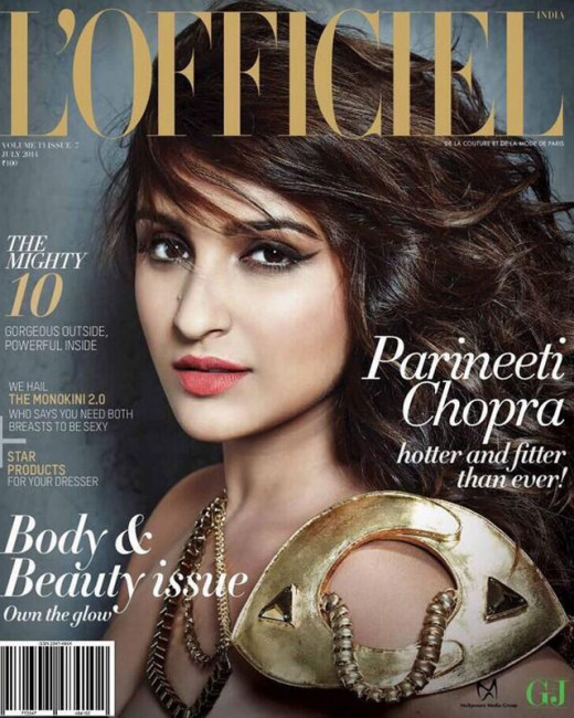 Bollywood actress Parineeti Chopra covers Lofficiel July 2014 issue.The actress was previously seen in films like Ishaqzaade, Shuddh Desi Romance and Hasee Toh Phasee.Latest new on hot Parineeti only on Biscoot Showtym: http://www.biscoot.com/showtym