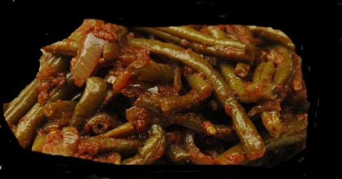 Delicious Lebanese Green Beans Great Middle Eastern Dish Everyone Will Love