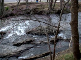 Old river keeps rolling along.