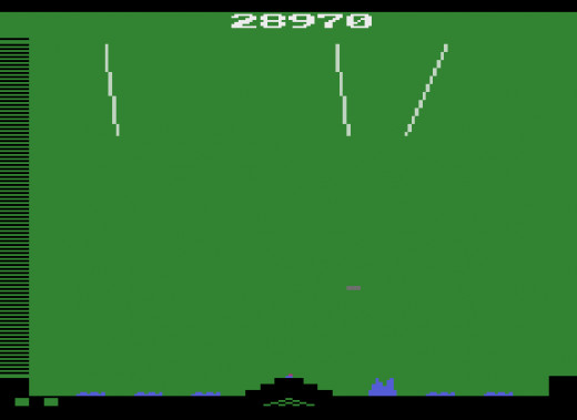 "An example of perhaps the sophistication of 1983 Soviet Missile Defense System Technology - Atari's ""Missile Command"""