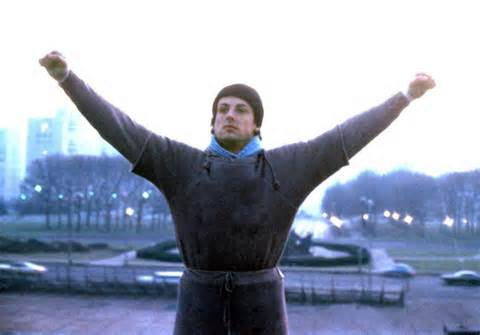 Sly Stallone as Rocky