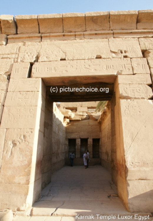 Luxor temple opening