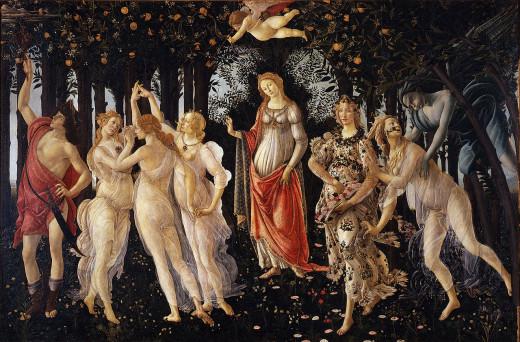 """Botticelli's """"La Primavera"""""""