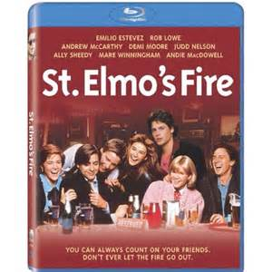 The cast of St. Elmo's Fire