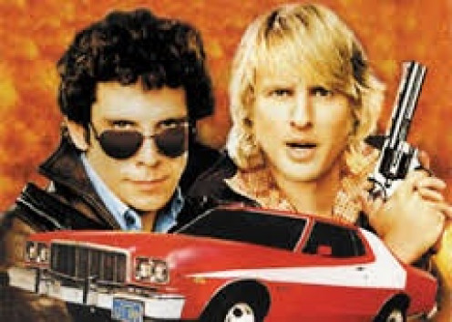 Ben Stiller and Owen Wilson play as detectives in Starsky and Hutch. This action-comedy is known as much for Starsky's Ford Gran Torino than anything else.