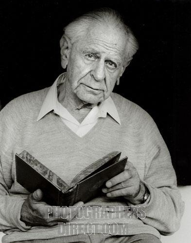 Philosopher of Science Karl Popper.
