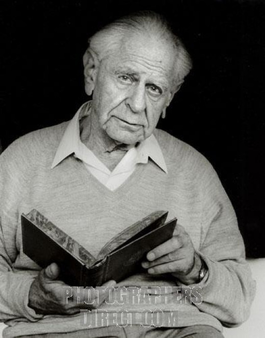 Philosopher of Science Karl Popper.