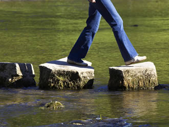 Stepping stones are the start to finding financial success. Your credit score is important in more ways than you think!