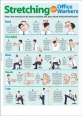 The Benefits of Stretching at Work (Posters Included)