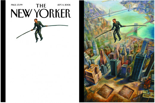One of The New Yorker's many covers