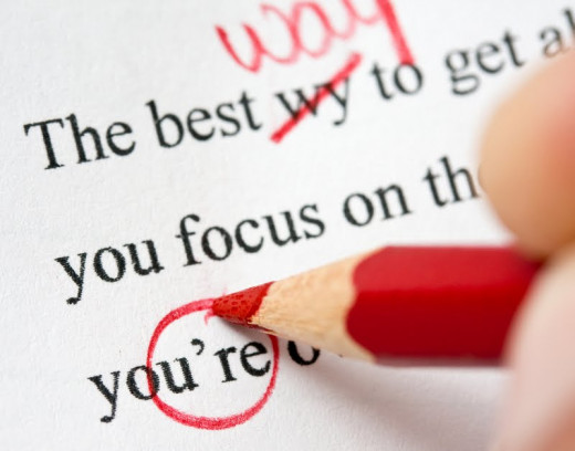 Don't be afraid of taking a red pen to your work.