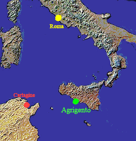 Sight of the Battle of Agrigentum in the First Punic War