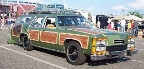 This was the Griswold's car in National Lampoon's Vacation. The group travels cross country trying to get to Wally World.