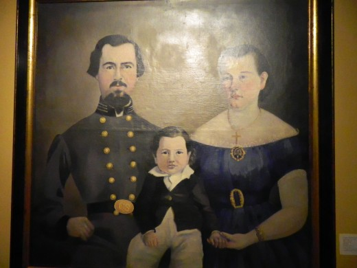 Civil War Era painting hung in the Little Rock Museum of History
