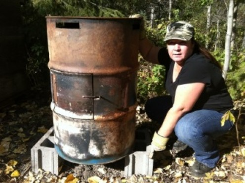 How To Build Your Own Incinerator for Non-Recyclable Waste