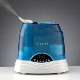Use a humidifier to keep your house or office from getting too dry.