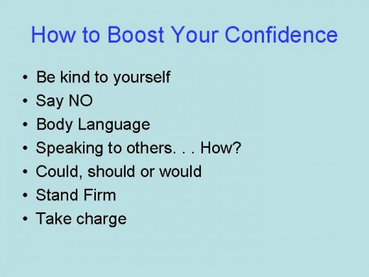 The seven steps to feeling more confident
