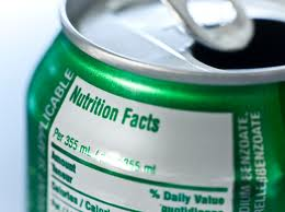 Read the label before consuming bottled or packaged food!