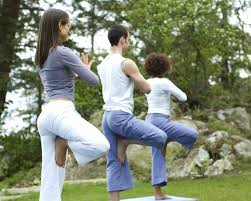 Exercise daily or practice Yoga to loose weight!