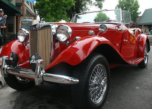 Nathaniel's 1952 MG