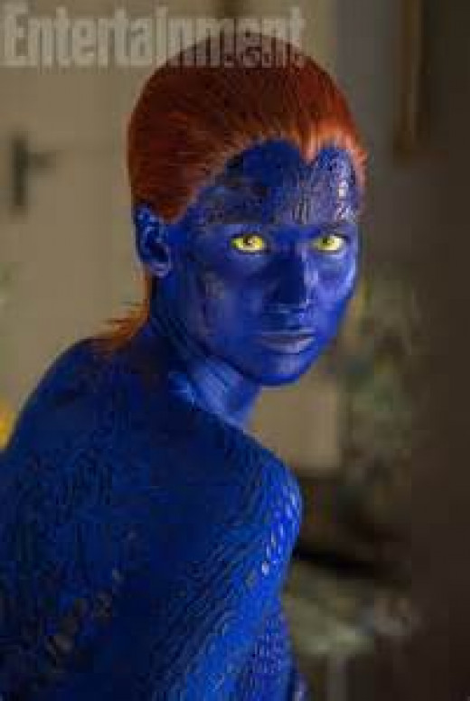 Lawrence as Mystique