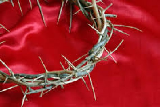 The Blood & the thorns of Jesus