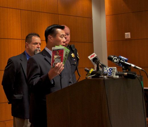 Former Senator Leland Yee pushes for new gaming legislation in California.