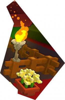 Advanced blocks like a Torch, Fence, or Flower pot are all craftable with craftingbenches!