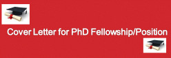 Winning Cover Letter for a PhD Fellowship/Position