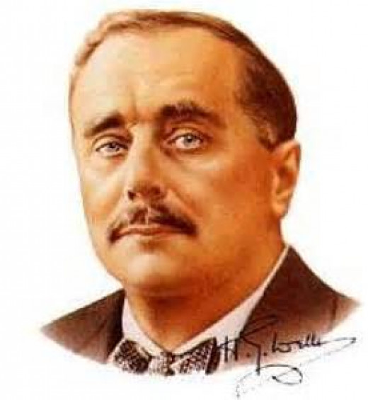 H.G. Wells, author of The Time Machine