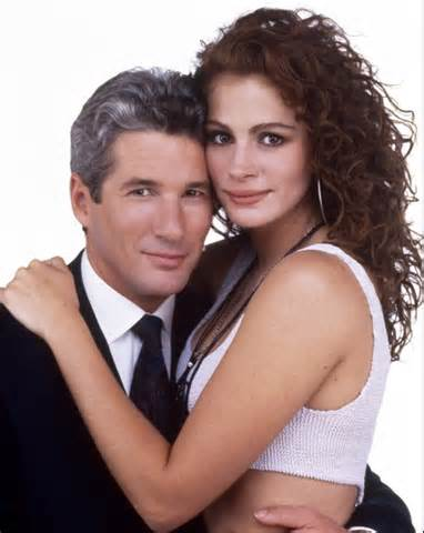 "Vivian and Edward in ""Pretty Woman"""