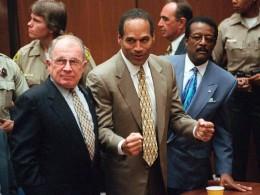 F. Lee Bailey, O.J. Simpson and Johnnie L. Cochran.
