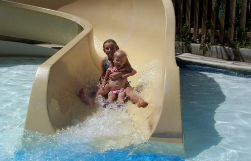 Slide at Caribbean Family Adventure (by permission of Water World)
