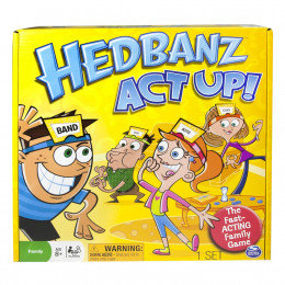 If you haven't tried this version of Hedbanz, I highly recommend it. Having everyone act out what's on your forehead creates a night of fun for the whole family.