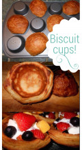 How to Make Biscuit Cups: Includes Biscuit Recipe and Ideas