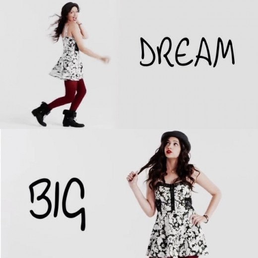 Bethany always inspires us to dream big:)
