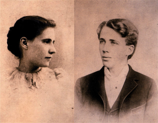 "Elinor Miriam White and Robert Frost (1895) - - ""I will be there for you, my dear """