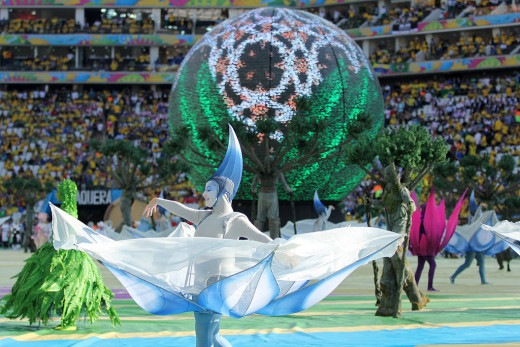 It all began with the Brazil 2014 opening ceremony.