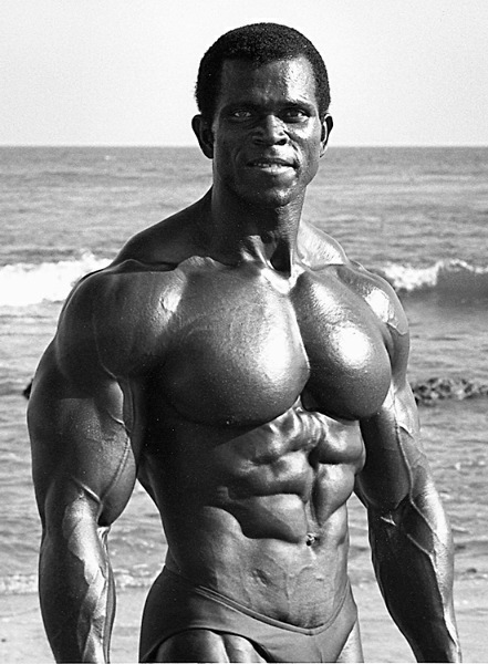 Serge Nubret used high density training
