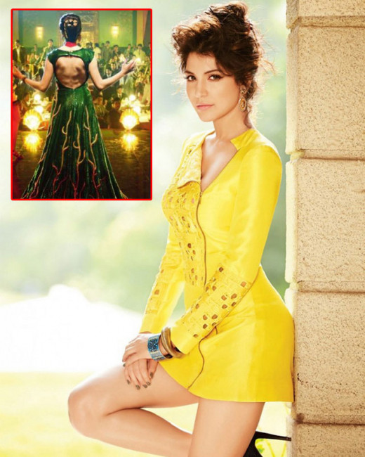 Anushka Sharma dons a green and gold number, designed by costume designer Niharika Bhasin Khan, for her opening song in her upcoming film, Bombay Velvet.Latest news on Biscoot Showtym.