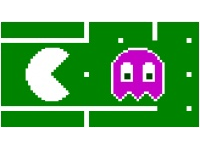 Screen capture of Pac-Man for firefox.
