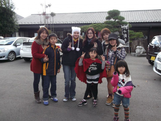 A day with a Japanese homestay family