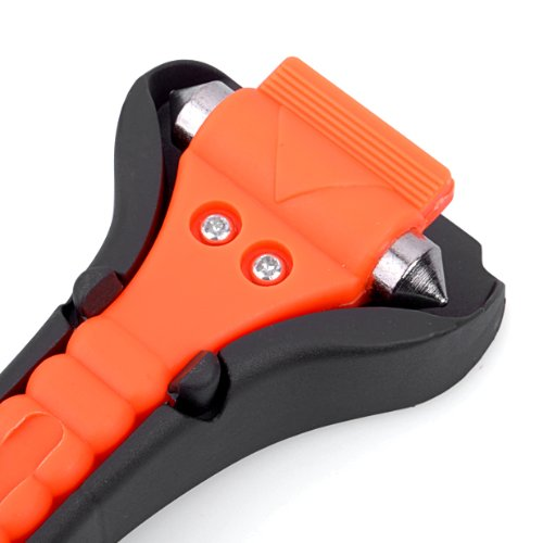 LifeHammer The Original Emergency Hammer (Orange).  This escape tool set the standard for all the others.  Its affordable, neat design incorporates a seat belt cutter, as well as a window breaker.  A classic design at a very affordable price