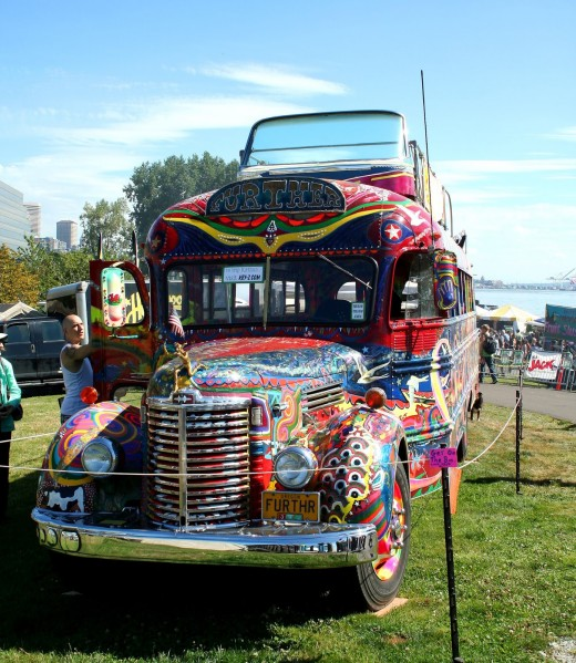 The Further Bus; Seattle Hempfest 2013