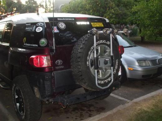 Best Bike Rack For Suv Spare Tire Bike Racks Hubpages