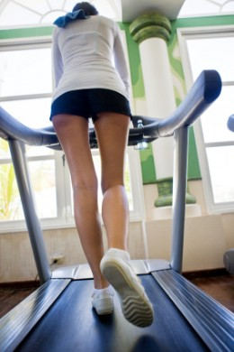 Aerobic Machines - Treadmills deliver a great aerobic workout.