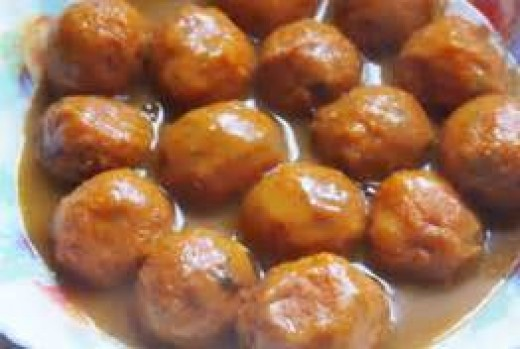 Fish Balls Curry
